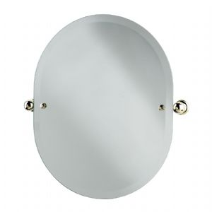 6982 Perrin & Rowe Oval Mirror 625mm x 500mm